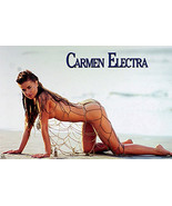 Carmen Electra Pinup Poster - $6.00