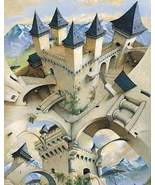 Castle of Illusion Irving Peacock Poster - $5.90