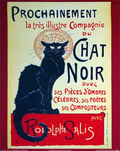 Le Chat Noir Advertisment Poster - $5.90