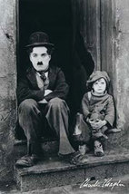 Charlie Chaplin In the Doorway Poster - $5.90
