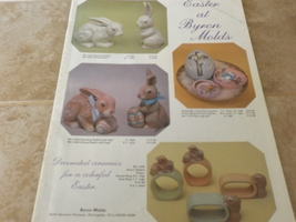 Easter by Byron Ceramic Mold Catalog - 1985 - $3.50