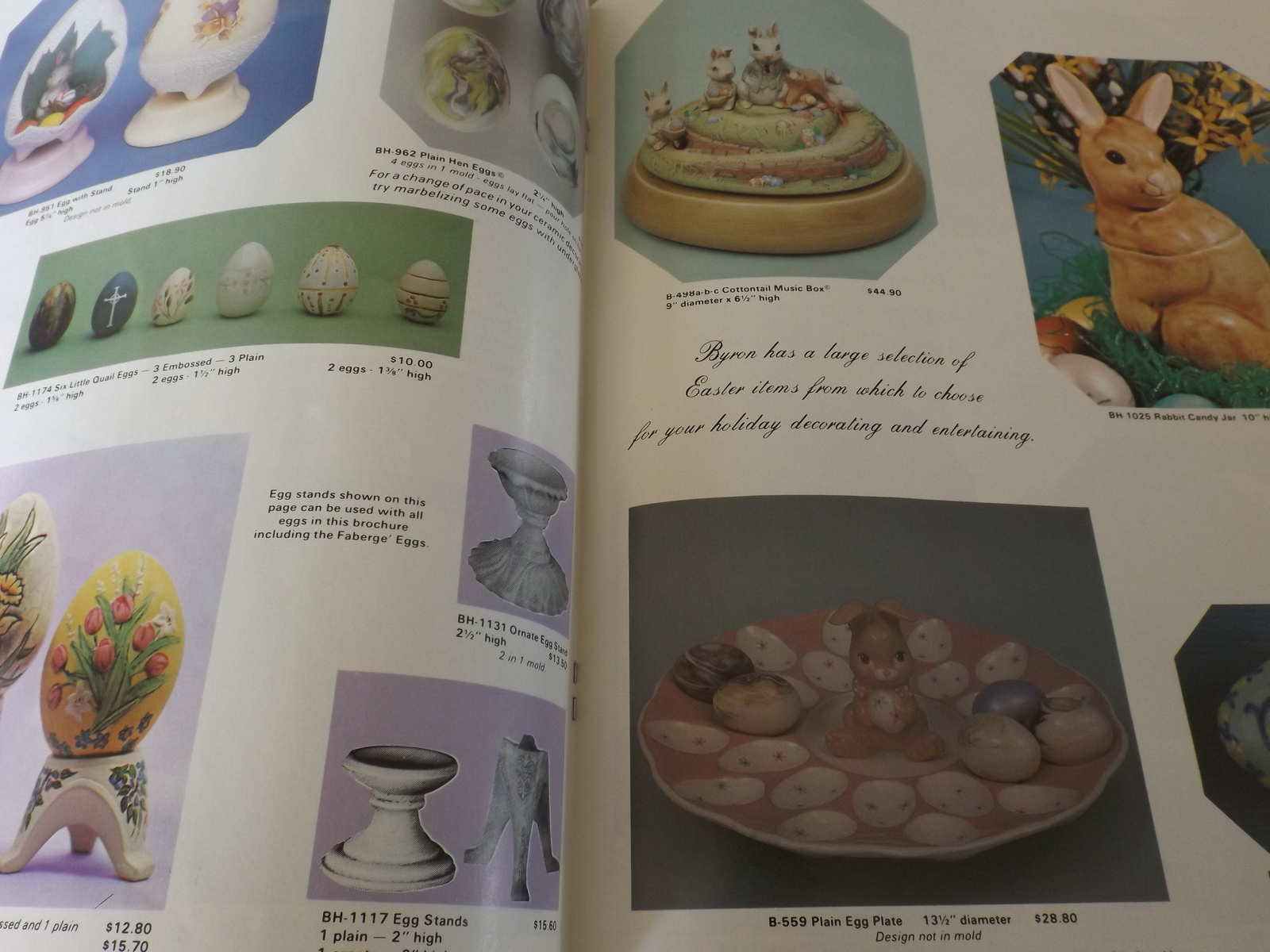 Easter by Byron Ceramic Mold Catalog - 1985 and 13 similar items