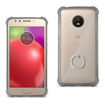 REIKO MOTOROLA MOTO E4 ACTIVE TRANSPARENT AIR CUSHION PROTECTOR BUMPER C... - $12.99