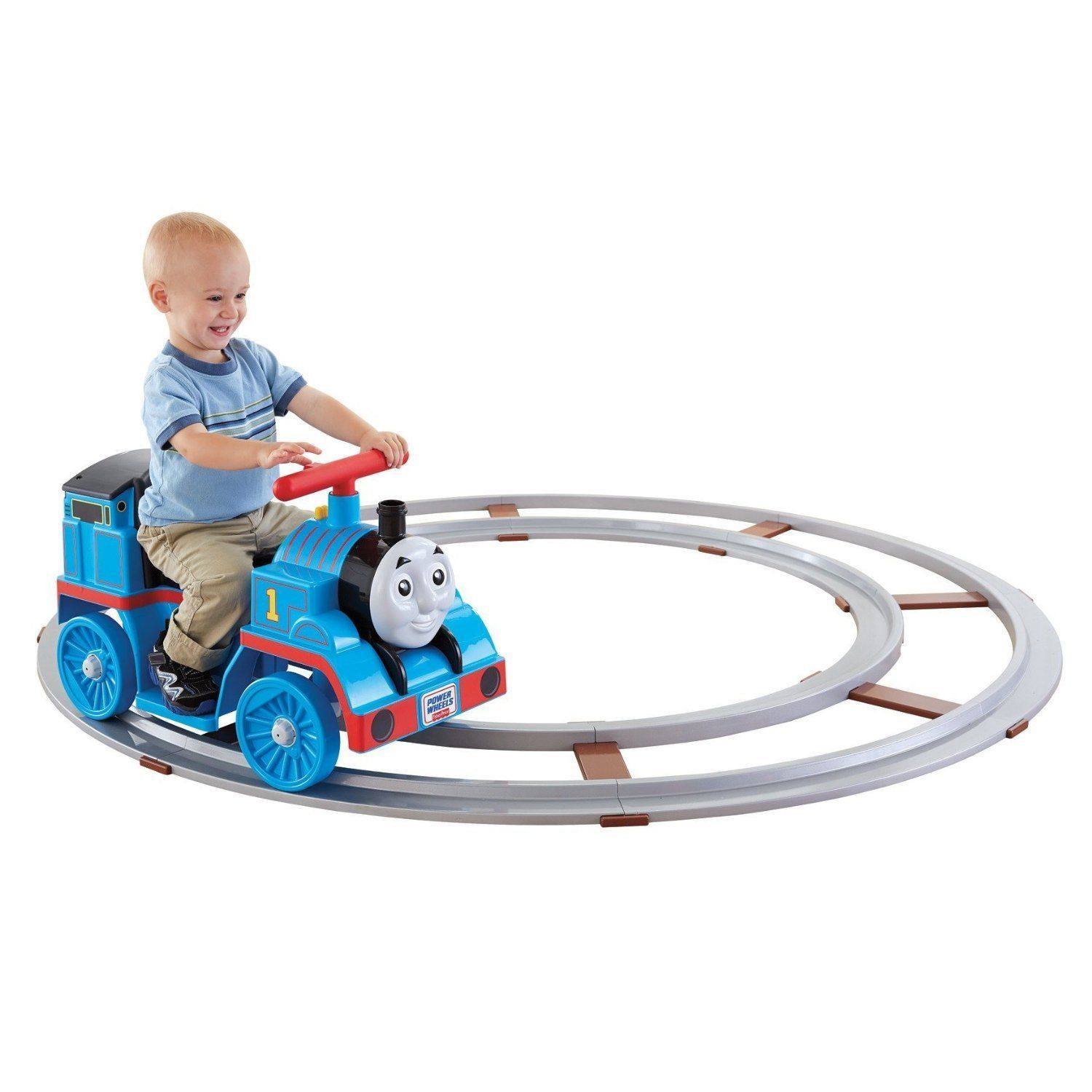 Hot Sale! $139.95 Fisher-Price Power Wheels Thomas & Friends Thomas with Track