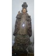Antique Sto. Nino (Holy Child) hardwood with iv... - $3,128.00