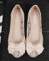 See Through Lace Shoes,Shoe lace styles,Lace Up Shoes/Flats,Lace Ballet ... - £39.12 GBP