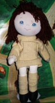Sweater Girl Rag Doll  (Vintage 1985) - $5.95
