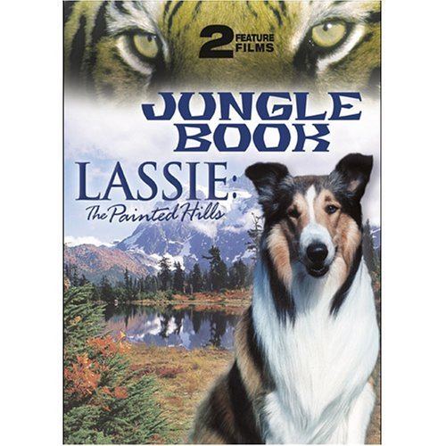 Lassie: The Painted Hills / Jungle Book [DVD] (2004) Lassie; Paul Kelly / Sab...