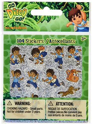 Nickelodeon Go Diego Go! 104 Stickers [Kitchen]