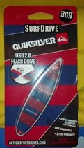 SURFDRIVE QUIKSILVER USB 2.0 FLASH DRIVE 8 GB [Personal Computers]