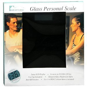 Wexford Glass Personal Scale, 1 ea [Health and Beauty]