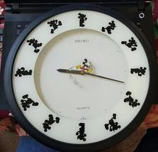 Seiko Disney Mickey Mouse Wall Clock - Kitchen - Bathroom - $48.95