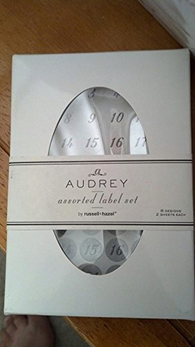 AUDREY ASSORTED LABEL SET [Office Product]