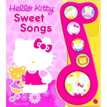 Little Music Note Hello Kitty Book