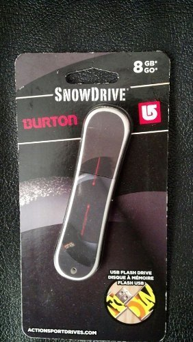 SNOWDRIVE BURTON 8 GB GO USB FLASH DRIVE [Personal Computers]