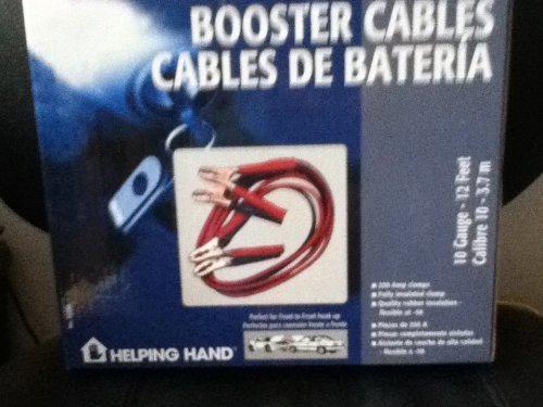 BOOSTER CABLES (10 Gauge - 12 Feet * Calibre 10 - 3.7 m) [Electronics]