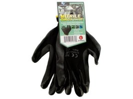 1 Pair 13-Gauge Nitrile-Coated Utility Gloves [Health and Beauty]