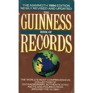 The Guinness Book Of Records 1994 (Guinness Book of Records, 32nd ed) by Norr...