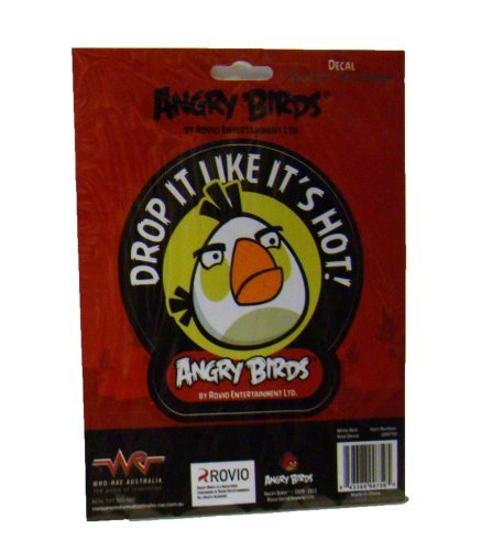 "Angry Birds ""Drop It Like It's Hot!"" Decal"