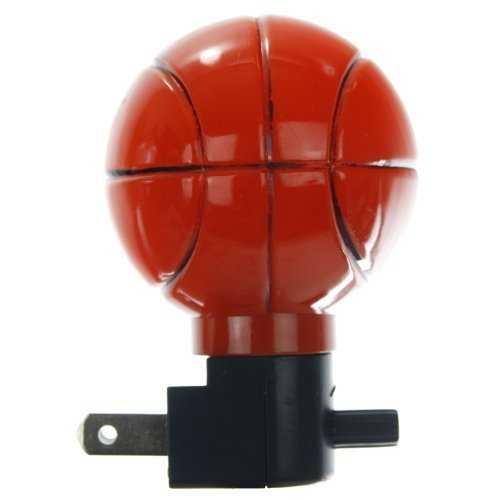Sunlite 04042-SU E166 Basketball Decorative Night Light, Orange