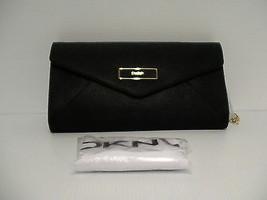 DKNY shoulder bag handbag envelope saffiano leather  blacks  - $118.75