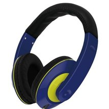 VIBE SOUND VS-867-NVY Color Curve Stereo Headphones [Electronics]