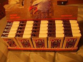 Butane Cigarette Lighter Poker Refillable Flame Type - One Lighter (Playing c...