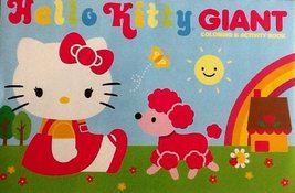 Hello Kitty! Oversized Giant Coloring & Activity Book! Games! Mazes! Puzzles!...