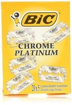 Bic Chrome Platinum Double Edge Razor Blades - 100 Ct [Health and Beauty]