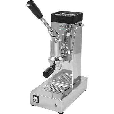 Ponte Vecchio Export Chrome Lever Espresso Cappuccino Coffee Machine 220V