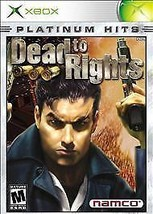 Dead to Rights Platinum Hits (Microsoft Xbox, 2003) *USED* - $8.90