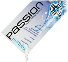 Passion Lubes Passion, Natural Water-based Lubricant, .25 Oz. Single Use Pouch