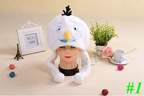 Olaf Snowman Hat for Autumn and Winter