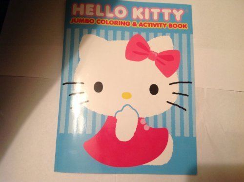 Hello Kitty Jumbo Coloring & Activity Book [Paperback] by Bendon [Toy]