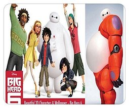 "BIG HERO 6 MOUSE PAD (8"" X 9"") [Personal Computers]"