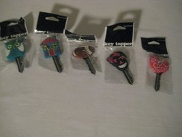 Assorted Key toppers (5 pack)