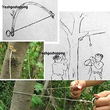 Steel Wire Saw Strongest Emergency Camping Hunting Survival Tool Camp