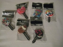 Assorted Key toppers (6 pack) [Office Product]