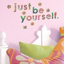 Main Street Wall Stickers - Alphabet Girl (one double sided sheet) [Kitchen]