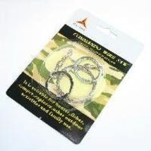 Stainless Steel Wire Saw Emergency Cord Camping Hunting