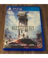 STAR WARS Battlefront SONY PLAYSTATION 4 PS4 VIDEO GAME - $19.80