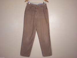 Christopher & Banks Women's Size 10 Pants Thick Corduroy Light Brown