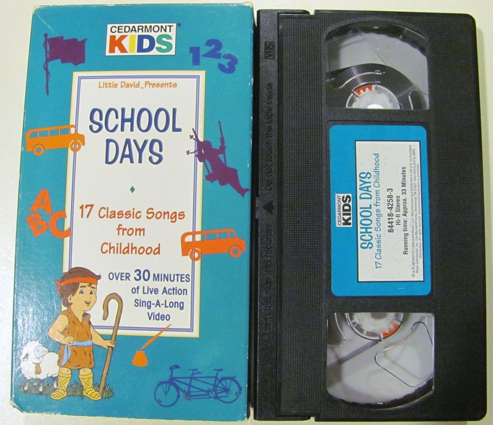 VHS Cedarmont Kids - School Days 17 Classic and 17 similar items