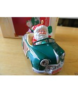 Here Comes Santa in 1987 Woody Car Limited Collectible  Hallmark Ornament 2005 - $7.59