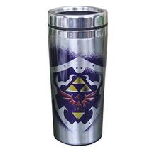 The Legend of Zelda Links Image & Triforce Logo 16 oz Stainless Steel Tr... - $15.47