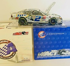 2002 Rusty Wallace #2 Miller Lite/Elvis 25th Anniversary CLEAR 1/24 Scal... - $28.83