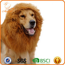 Exclusive Pet Dog Cat Lion Wig Lionhead Set Dog Collar - $17.51