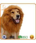 Exclusive Pet Dog Cat Lion Wig Lionhead Set Dog Collar - £12.84 GBP