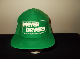 VTG-1980s Meyer Dreyers Morton Company MADE USA snapback hat sku16 - $27.83
