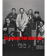 HAL LINDEN RON CAREY CAST OF BARNEY MILLER 1978 ABC ORIG PHOTO 8E-092 - $24.74